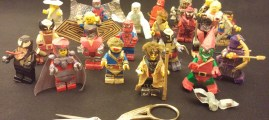 25 Years Ago I Made Dozens of Marvel Lego Characters