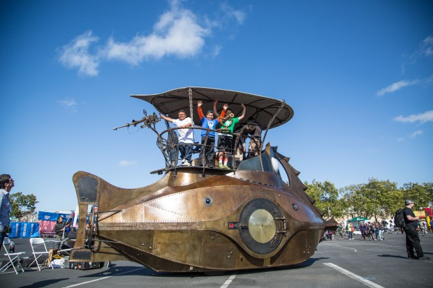 The Nautilus Submarine Art Car