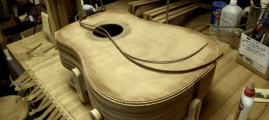 Watch this Artisan Create a Beautiful Acoustic Guitar