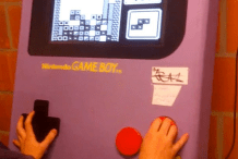 Fully Functioning Giant Game Boy is Perfect for Parties