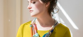 Craft Fashion: Paper Bead Statement Necklace