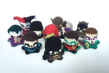 Crochet Comic Book Characters Save the World with Cuteness