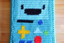Clever Crochet: DIY BMO Tablet Case
