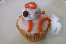 Bake These Easy BB-8 Cupcakes