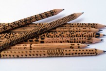 Inspired Writing: Gorgeous Woodburned Pencils