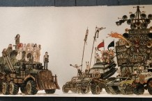 Take a Mad Max: Fury Road-Inspired Watercolor Tutorial