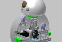 Open Source Full-Sized BB-8 Robot