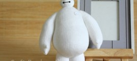 Geeky Stitches: Sew a Sock Baymax