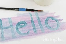 Write Secret Messages with Easy-to-Make Invisible Ink