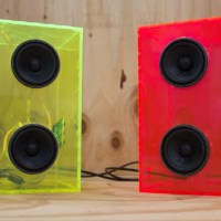 laser cut speaker enclosures