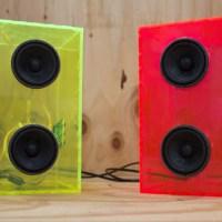 laser cut speaker enclosures