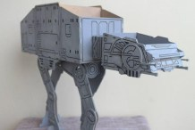CNC Your Own Star Wars AT-AT