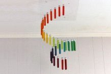 Make a Rainbow Chandelier Out of Test Tubes
