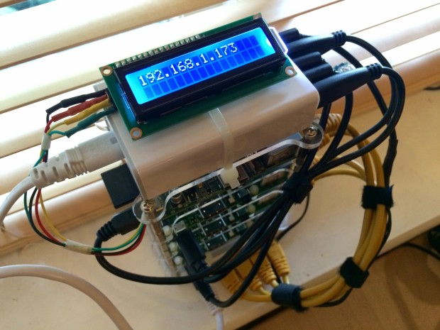 Adding an LCD to the cluster.