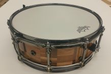 Beautiful Snare Drum Built from Scrap Wood