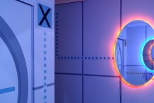 This Lucky Kid Got the Ultimate Portal-Themed Room