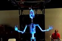 PlasmaBot: World's Coolest Marionette