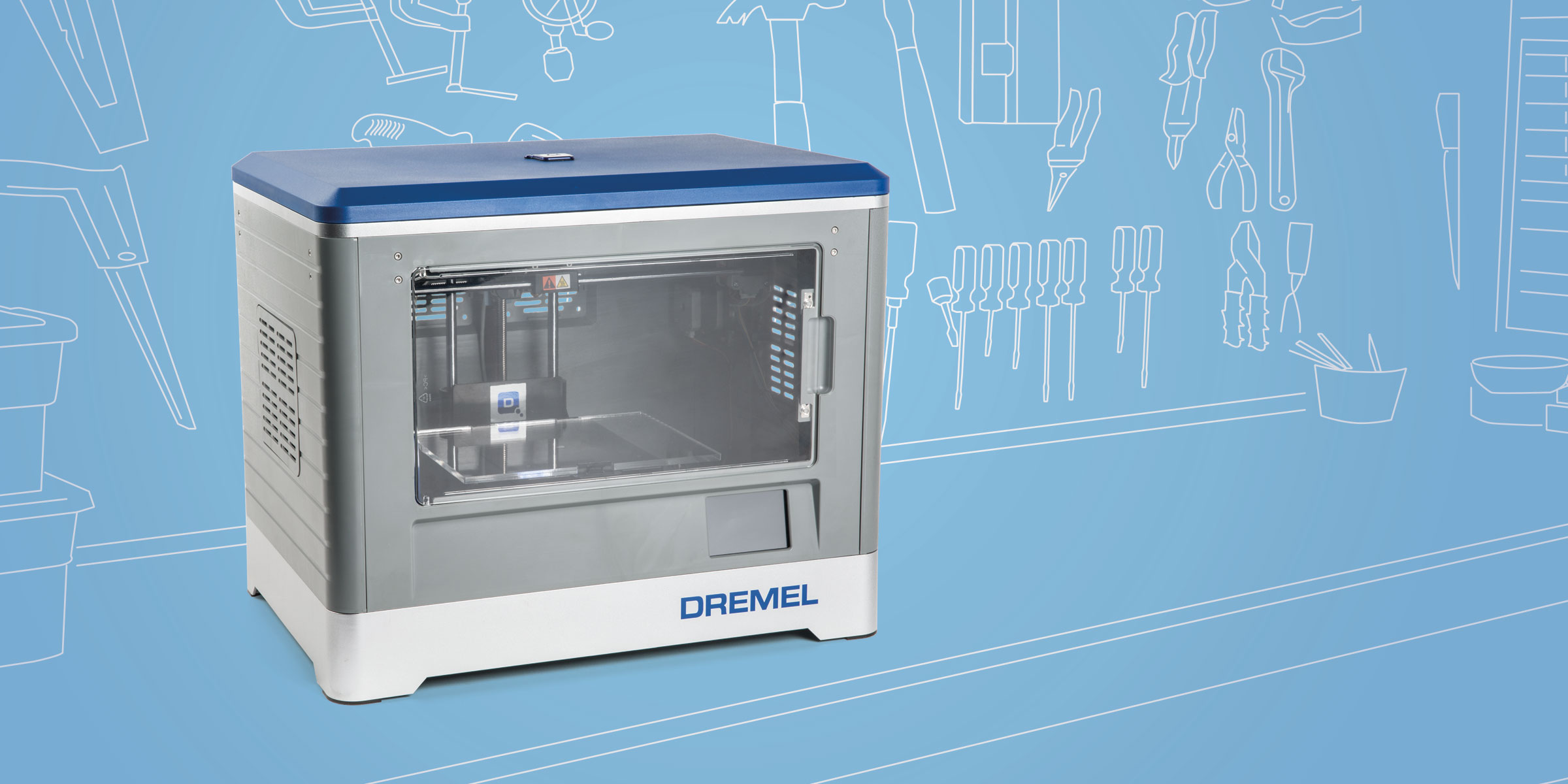 dremel 3d idea builder 3d20 make diy projects and ideas for makers. Black Bedroom Furniture Sets. Home Design Ideas
