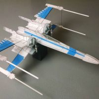 Finished R/C T70 X-Wing Fighter