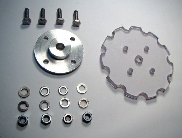 Parts for Sprocket and Hub