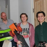 Makerspaces aotearoa new zealand faraday motion for Apartment makerspace