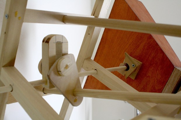 Hexachord Scotch Yoke Mechanism