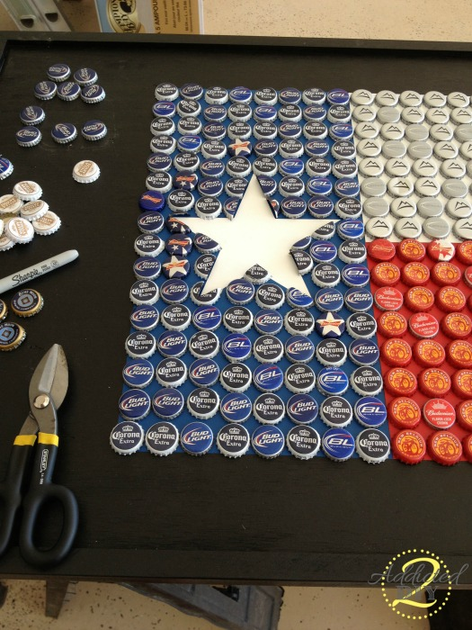 6 projects to justify hoarding your bottle caps make for How to make a table out of bottle caps