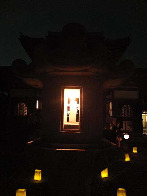 古都の光 観世音寺