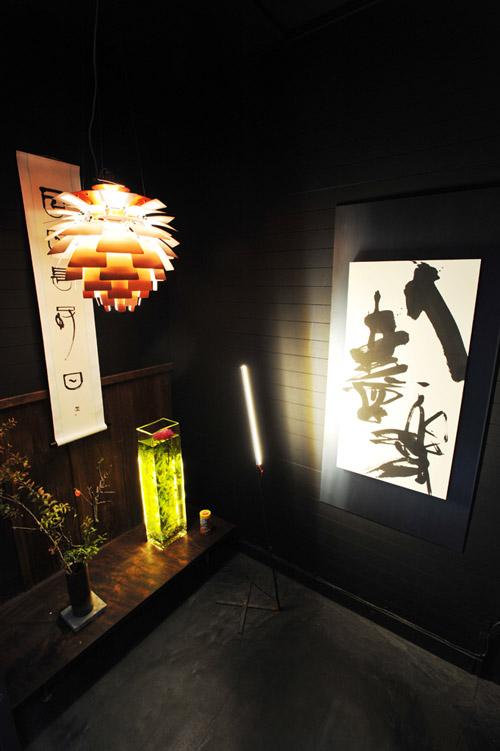 個展書の壁 入口