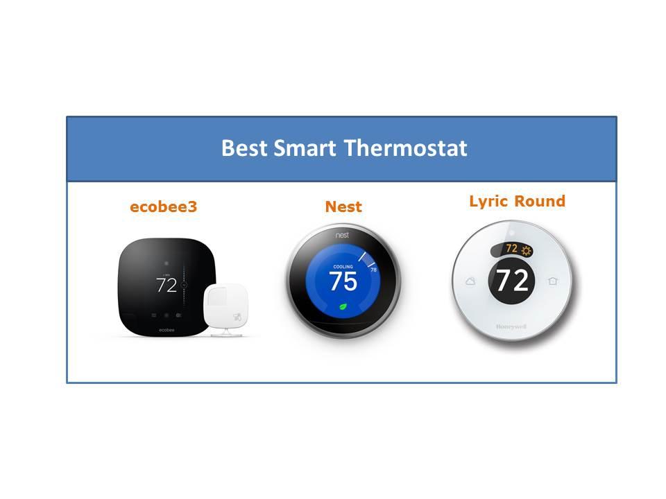 best smart thermostat making a smart home. Black Bedroom Furniture Sets. Home Design Ideas
