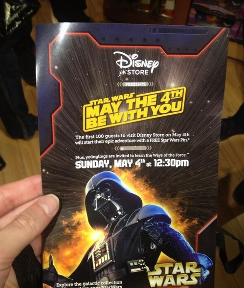May The Fourth Events At Disney Store