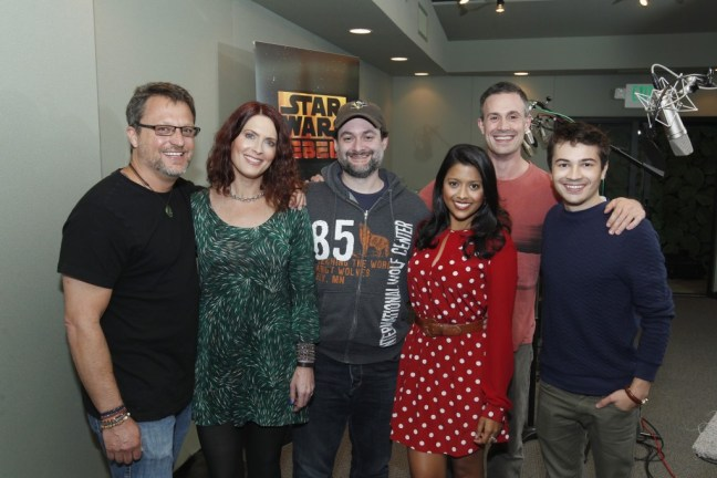 rebels02 UPDATED: New Pictures of the Star Wars Rebels Cast