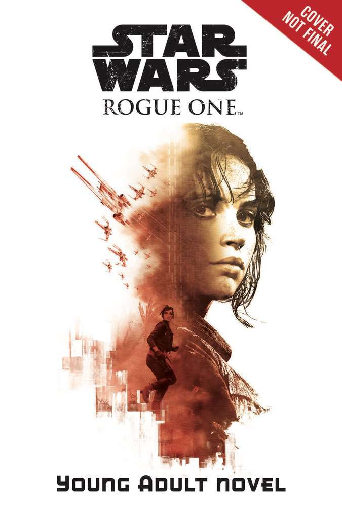 Three Rogue One: A Star Wars Story temp book covers