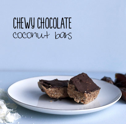 Paleo Chewy Coconut Bars