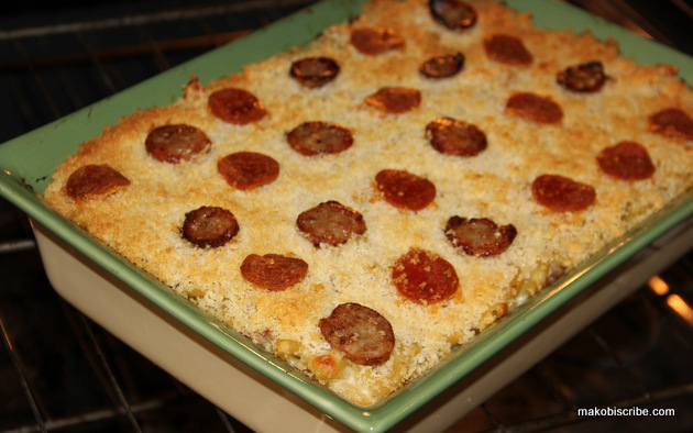 Meat Pizza Macaroni and Cheese Recipe