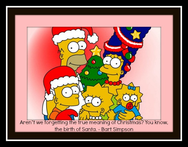 Simpsons Funny Christmas Quotes