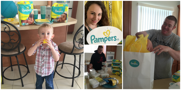 baby's first moments party prep