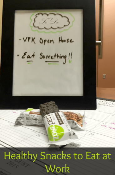 7 healthy snacks to eat at work