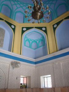 Inside the tomb of Shaykh Abdul Haqq Dehlavi