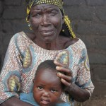 Our Grandma with grandchild - supported from the village
