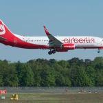 Air Berlin pierde 271,5 millones de euros en el primer semestre, un 9,7 por ciento más
