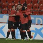 Truyols, Arana y Joselu, posibles novedades ante el Sporting