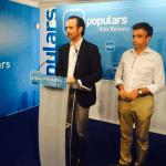 Bauzá dejará la presidencia del PP a favor de una persona que pueda hacer un relevo ordenado en el partido