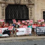 300 personas piden la abolición de la tauromaquia en Baleares