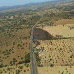 Incendio en la carretera Campos-Llucmajor