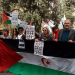 Ensenyat apoya una concentración por los presos políticos saharauis
