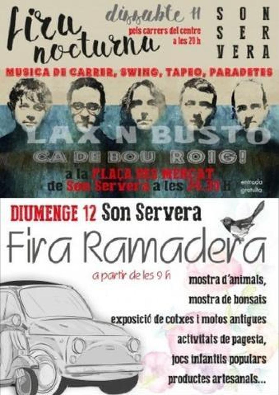 cartell Fira Nocturna i Ramadera