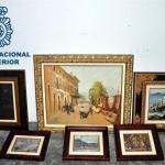 Recuperados en Manacor 6 cuadros robados con un valor superior a los 50 000 euros