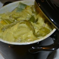 Recept: romige kip/kerrie uit mini pannetjes