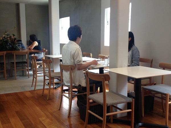 ミカフェート元町店カフェ座席
